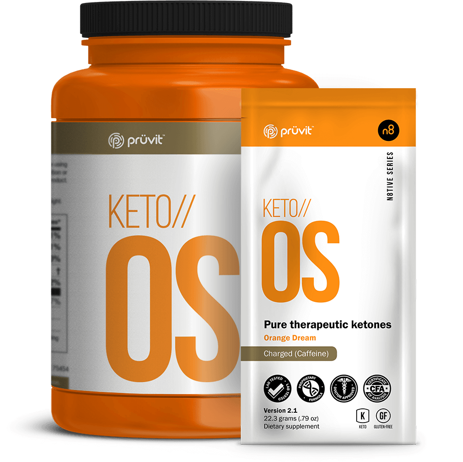 KETO OS 2.1 - Orange Dream - Pruvit Australia