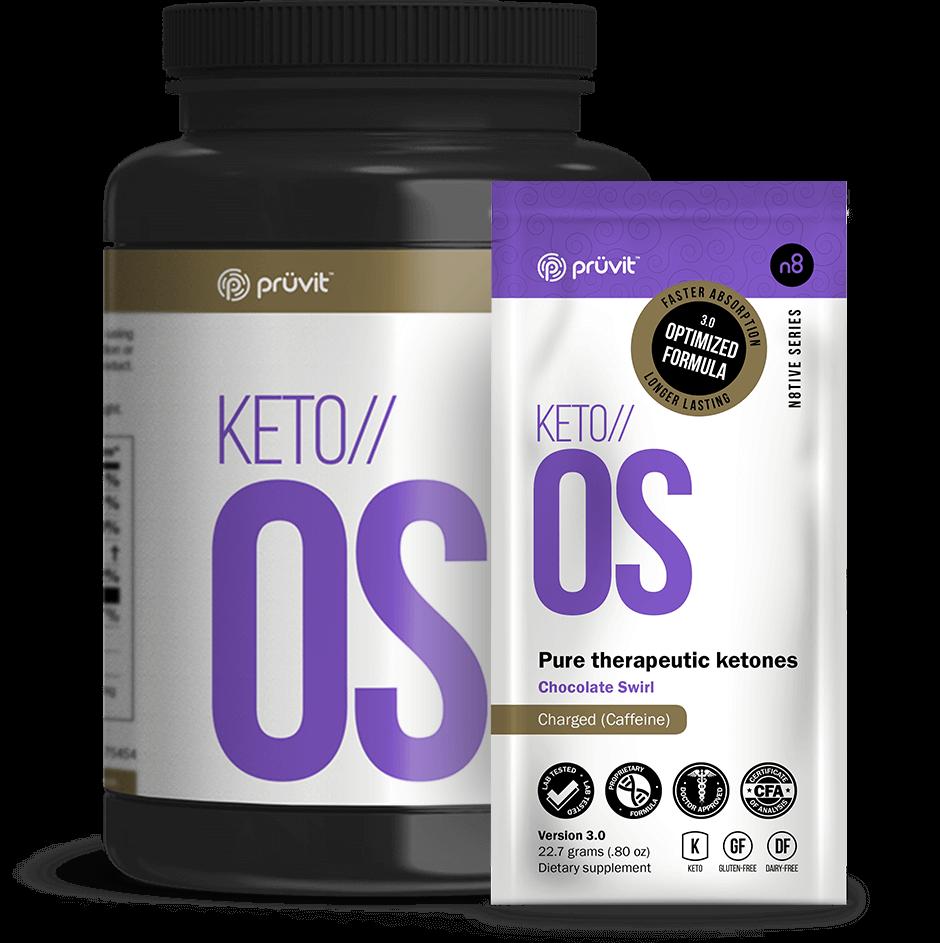 KETO OS 3.0 - Chocolate Swirl - Pruvit Australia