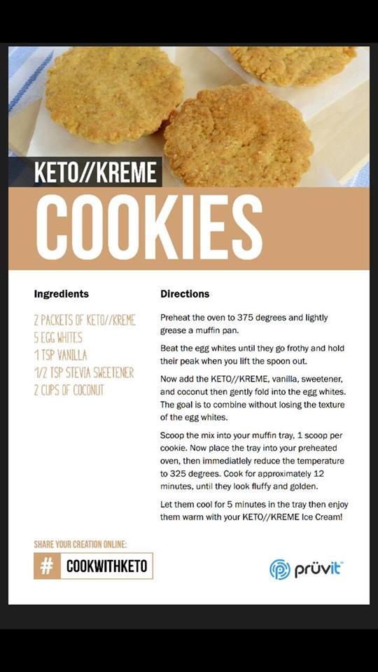 Keto Kreme - Cookies