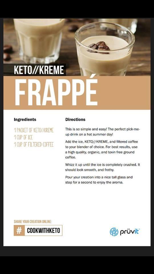 Keto Kreme Frappe Recipe