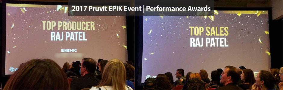 Top Pruvit Promoter - 2017 EPIK Pruvit Awards - Raj Patel - Best Pruvit Distributor