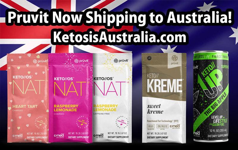 Pruvit KETO OS NAT - Australia