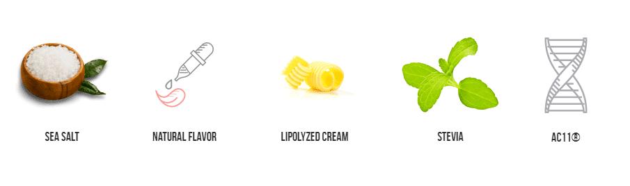 Keto Kreme Ingredients